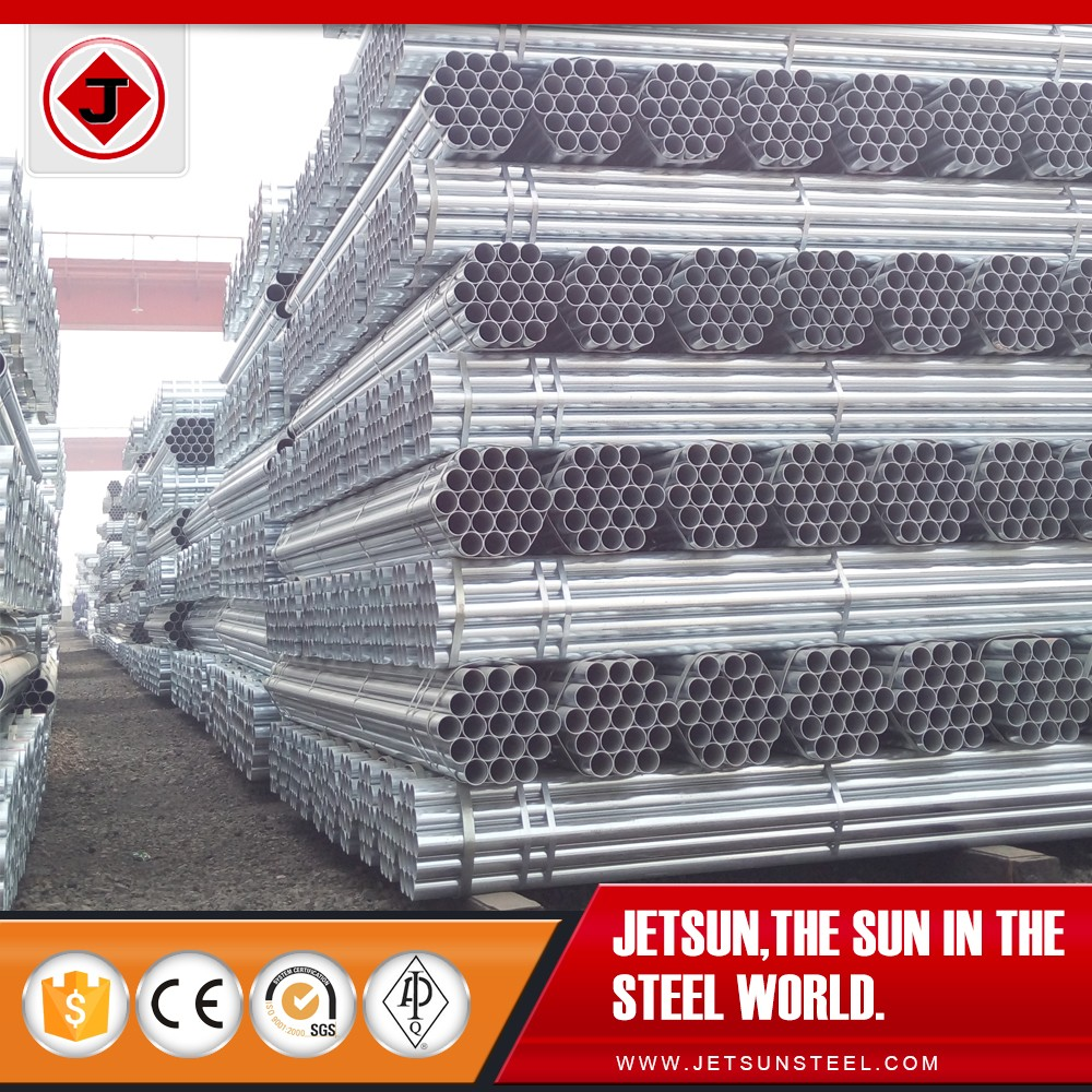 zinc coating square tubing, weld pre-galvanized steel pipe supplier