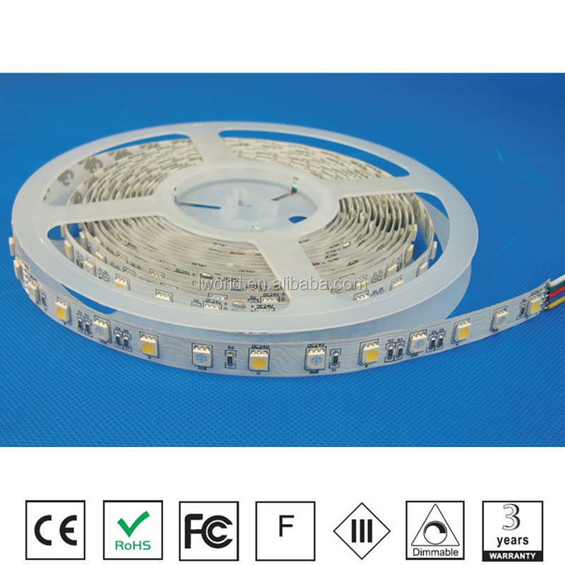 IP20 rgbw led strip with 3years warranty led light strip superior brightness IP20 led strip light