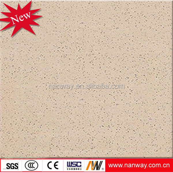 Yellow non slip and wear resistant surface abrasive brick porcelain tile