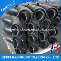 Trade Assurance Supplier ASME B16.9 carbon steel pipe fittings hdpe high quality 90 degree elbow dimensions