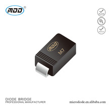 SMD 1A 1000V General Purpose Rectifier Standard Diode M7 S1M 1N4007