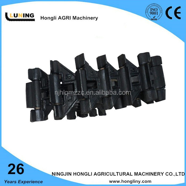 thin metal chain track conveyor chain bulldozer track chain