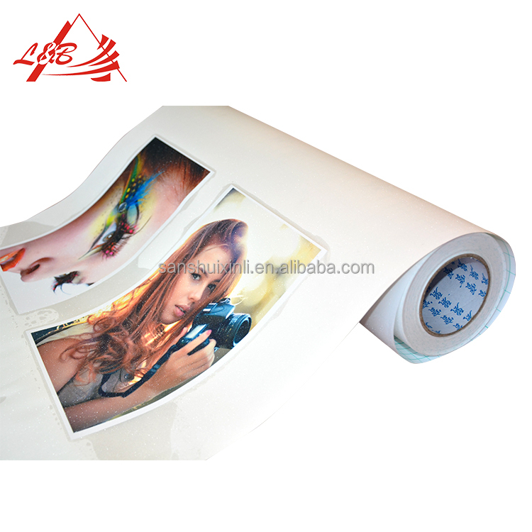 High Quality Roll Cold Laminating PVC Adhesive Film for Photo