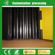 2 channel rubber cable protector.cable ramp.speed bump.cable protector outdoor