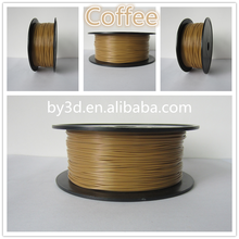 (Coffee) High strength 1.75/3.00mm pla 3d filament for imprimanteand 3d printer pen