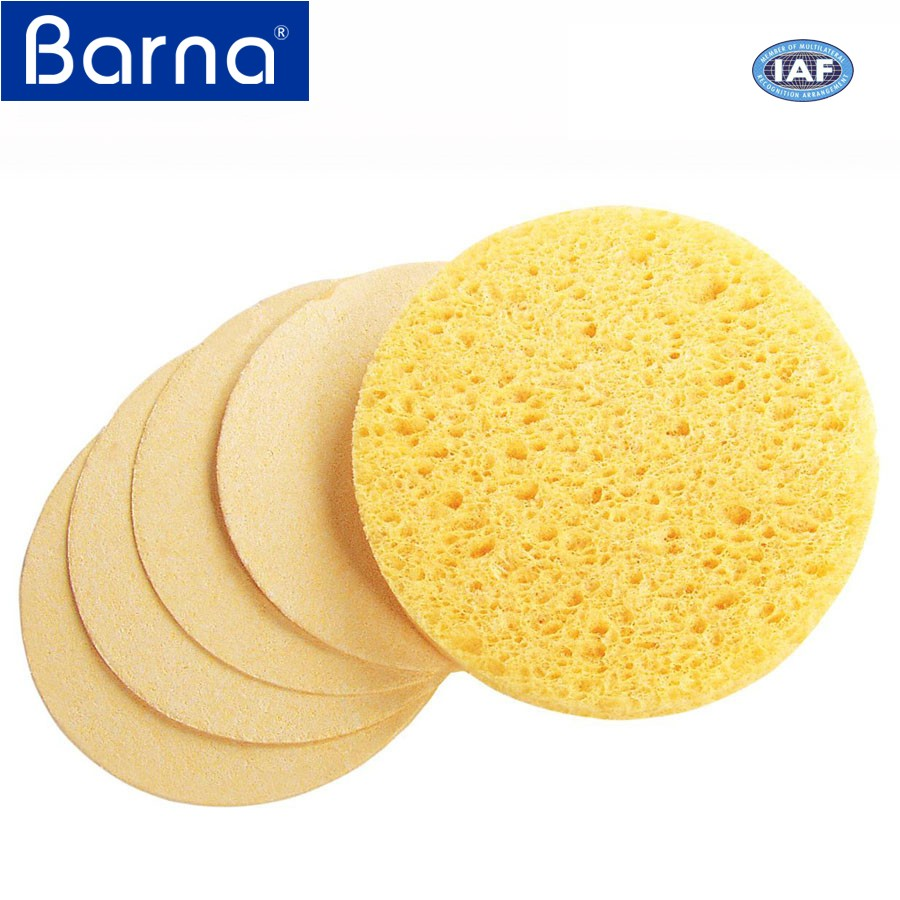 easy use low price high quality cellulose sponge for wiping dirt filth