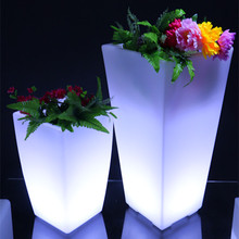 music flower pot religious table decoration led furniture