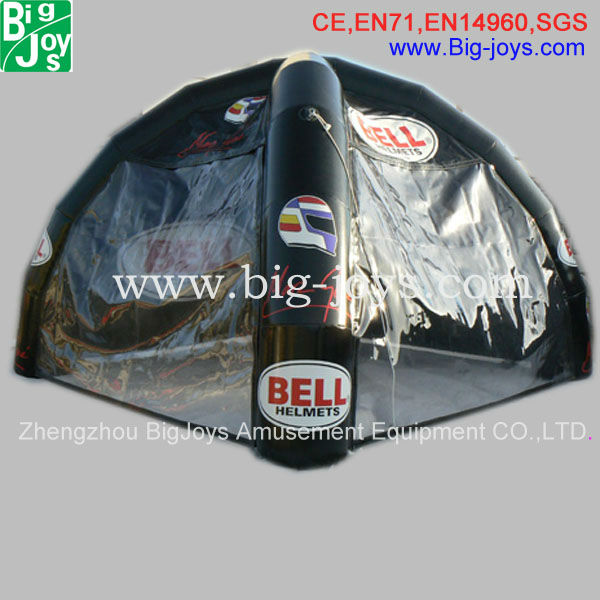 playground inflatable tent, small inflatable tent for sale