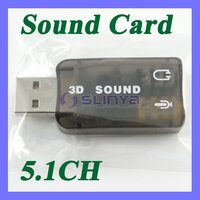 Stereo 5.1 Channel 3D PC PCI Sound Audio Card