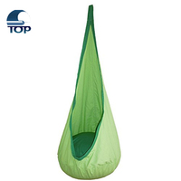 Round Hanging Hammock Kids Outdoor Cotton Chair
