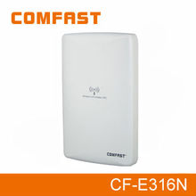 COMFAST CF-E316N 300Mbps wireless outdoor wifi cpe client/ap/network bridge/adsl mode with poe/built-in high gain antenna