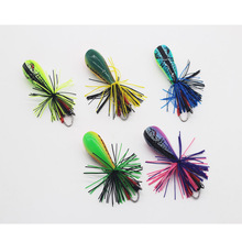 55MM 10G Wholesale sea bass frog hard lure <strong>fishing</strong> blank soft jump frog <strong>fishing</strong> <strong>baits</strong>