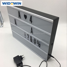 A3 Size USB or Rechargeable Battery Power A3 Cinema Light Box for Home