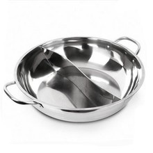 Hotel and restaurant stainless steel insulated casseroles hot pot 30-40cm