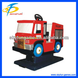 Fire Engine child electric sports car