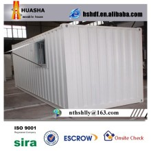 Low price 20ft Used steel cargo container house prices for sale