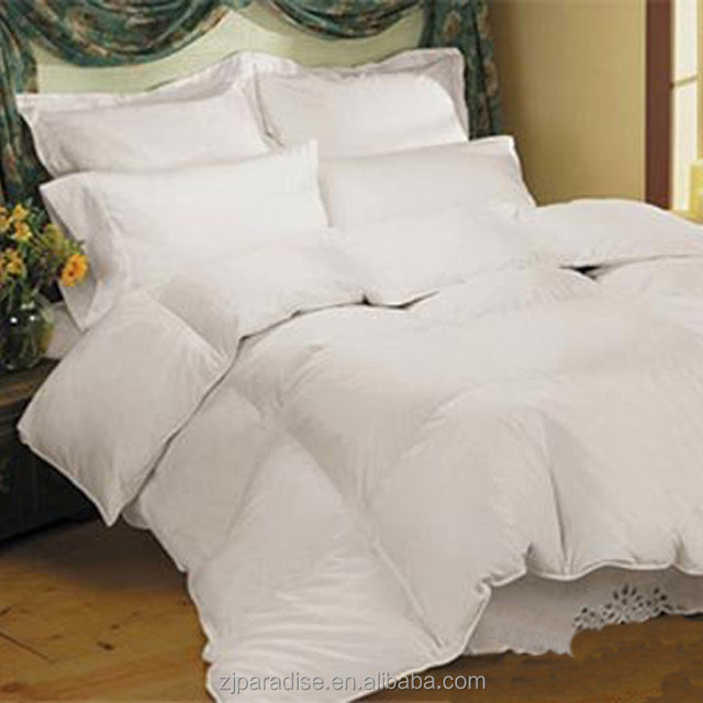 Egyptian cotton luxury 750 Fill power Hungarian Goose Down Comforter/duvet cover sets
