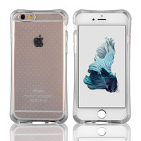 C&T Grainy Translucent Shockproof Case Anti-Scratch Back Cover for iPhone 6 4.7 Inch