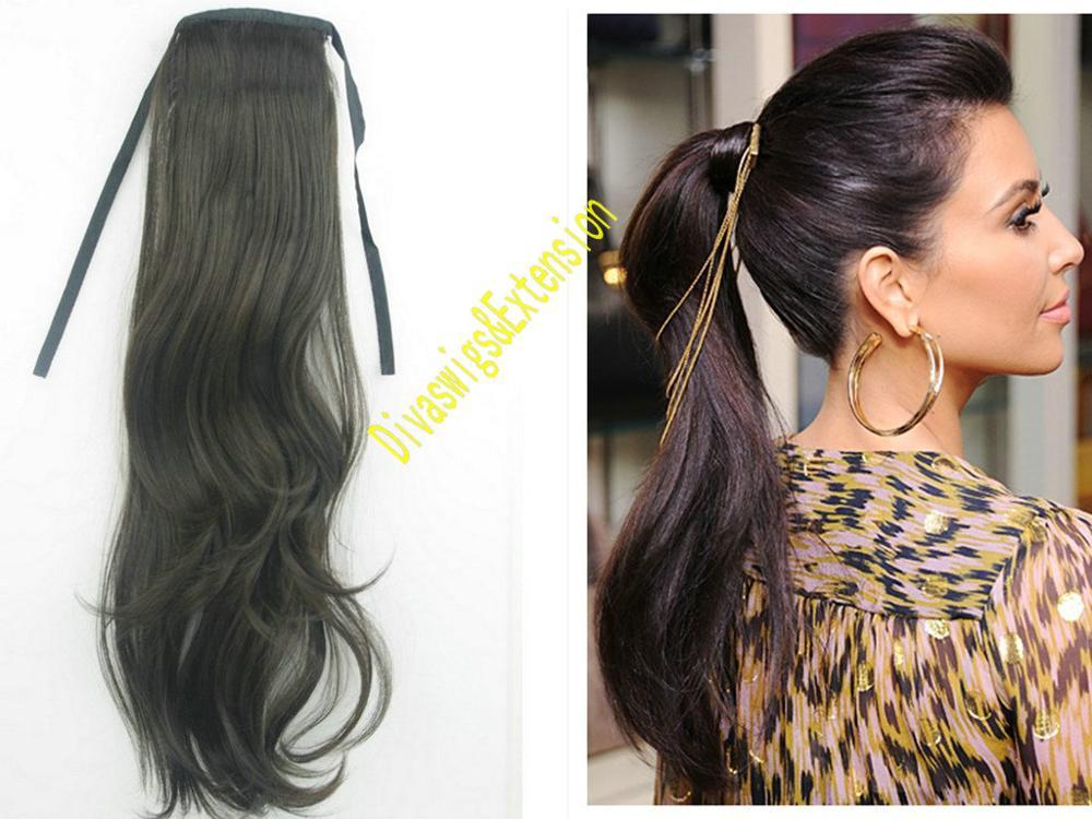Wrap Around Kim Kardashian Wet And Wavy Clip In Indian Virgin Hair