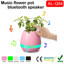 Multi - functional intelligent Electronic music buttons Touching music flower Bluetooth Speaker LED