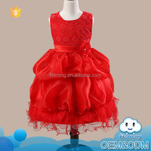2016 baby girl party dress children frocks party designer one piece little girls flower sleeveless baby girl birthday dresses