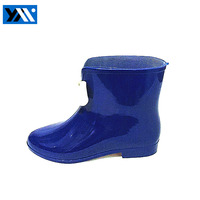 Fashionable And Bright Navy Women PVC