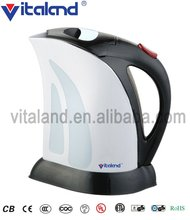 1000W plastic steel household electric cordless kettle with 1L capacity