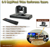 3x Zoom CMOS Sensor PTZ Mini USB HD Video Conference Long Distance High Speed Wall Mount Auto Tracking Camera