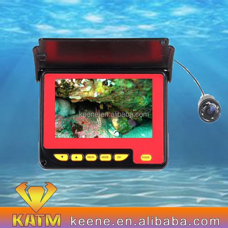 Best underwater fishing surveillance video camera monitor for Best underwater fishing camera