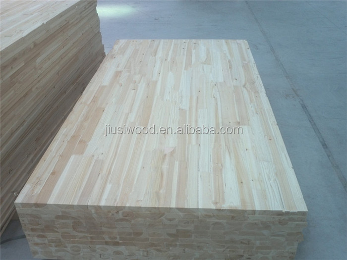 Factory supply fir solid wood finger joint Chinese fir board