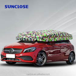 2016 new style custom all Weather Resistant solar car cover automatic car sunclose