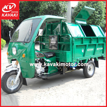 250cc engine three wheel moped garbage truck 250cc motorcycle for CCC