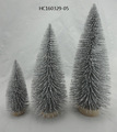 Fashionable and high quality offwhite fiber christmas tree home decoration