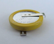 High Capacity button cell battery with PCB Pin CR1632 CR2032
