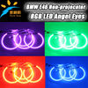 For bmw led angel eyes SMD LED rings kits RGB led angel eyes ring, Multi color led angel eyes for BMW E46 Non-projector