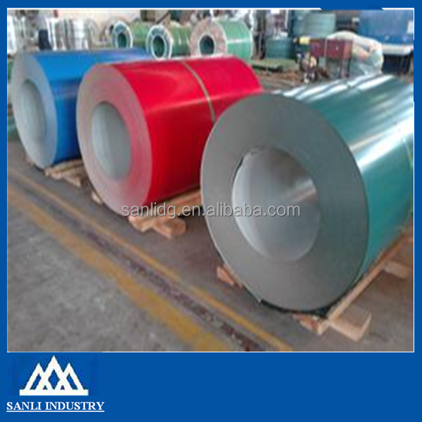 Price prepainted steel coil/ PPGI coil from China supplier
