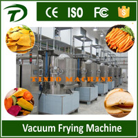 Potato chips vacuum frying machine