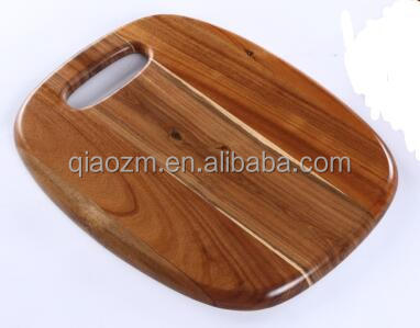 Acacia Oval wooden chopping board, cutting board meat vegetable Chopper salad chopping board