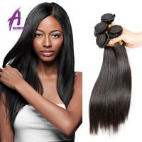 Wholesale cheap virgin malaysian straight hair,ALIMICE hair product wholesale top quanlity virgin malaysian hair
