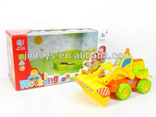Battery Operated Construction Truck,Electronic Engineering Van,Blocks Construction Car(3 Colors)