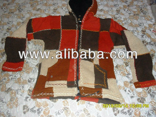 100% pure woolen jacket /New model woolen jacket