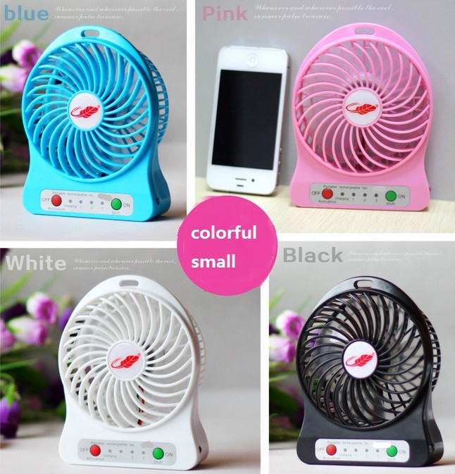 New Fanshion Portable Rechargeable Mini USB Fan