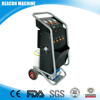 BC-L180A auto refrigerant recovery machine can do the Vacuuming work