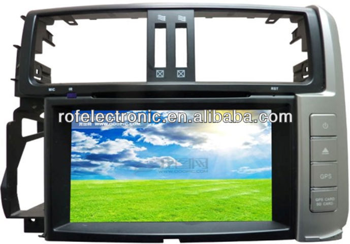 car navigation system dvd For Toyota Prado