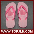 hot sale DIY printing heat transfer rubber beach slippers price