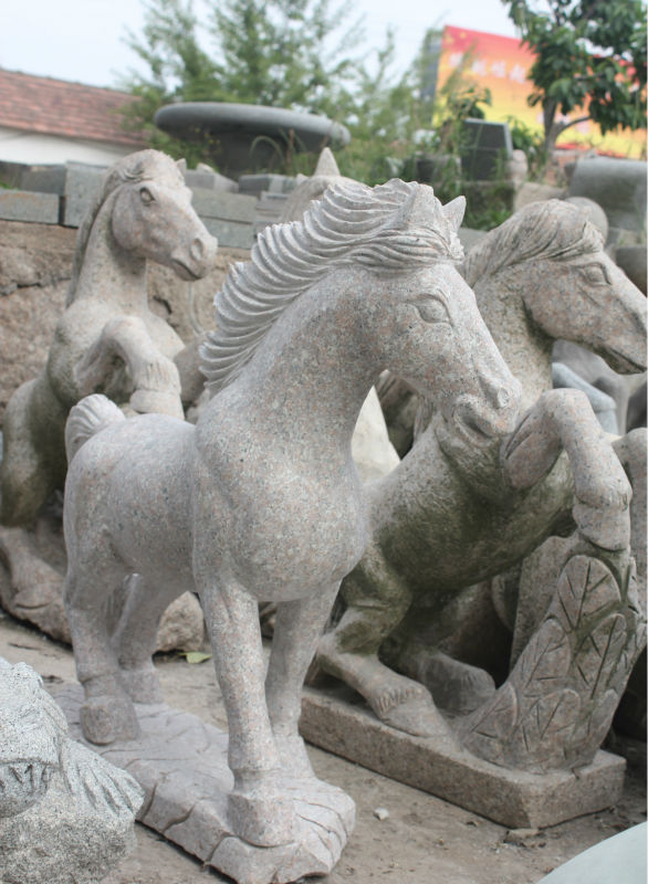 chinese life size garden decorations stone granite lion statues for sale