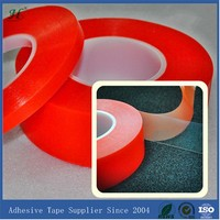 10mm X 50M Clear Strong Polyester Adhesive Double Sided Silicon Tape Transparent