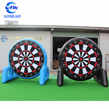 Giant Inflatable Foot Darts Board Game Air sealed Sports Soccer Dart Board Golf Dart Games