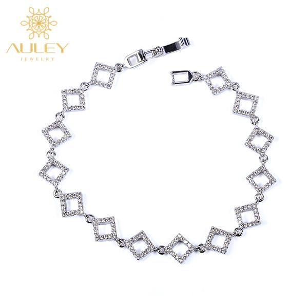 Wholesale fashion expandable accessories diamond bracelet jewelry