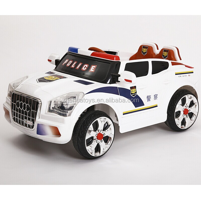 2015 Newest 2 Seater Kids Electric Car Police Car Toy For